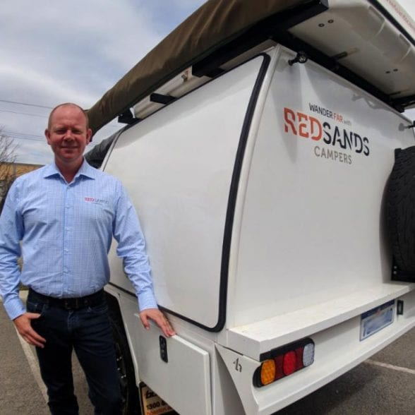 One-on-one with Adam Sands of RedSands Campers