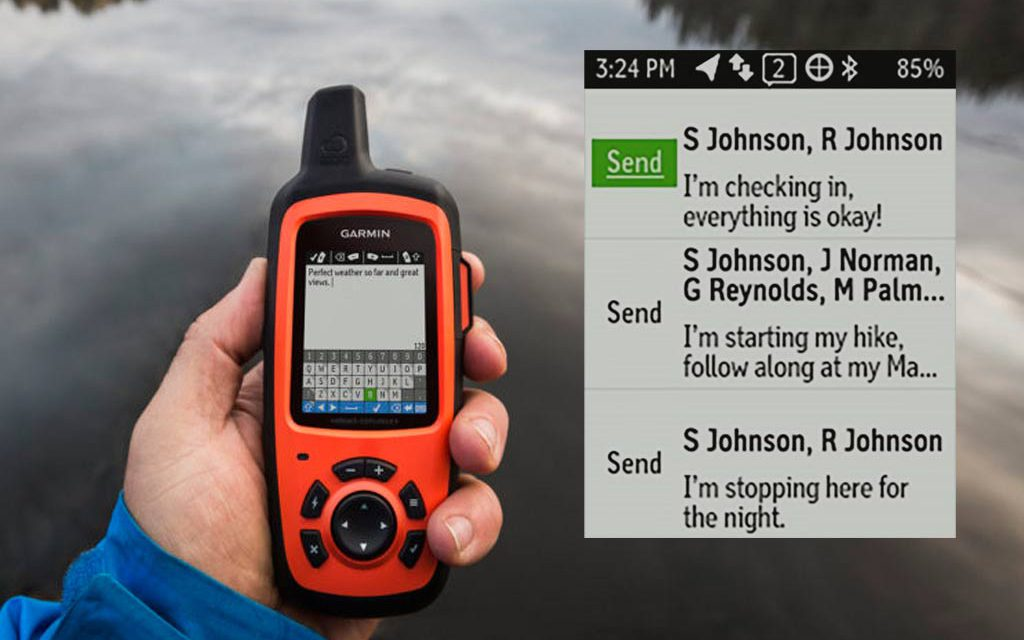 inReach. The ULTIMATE portable device for off grid contact