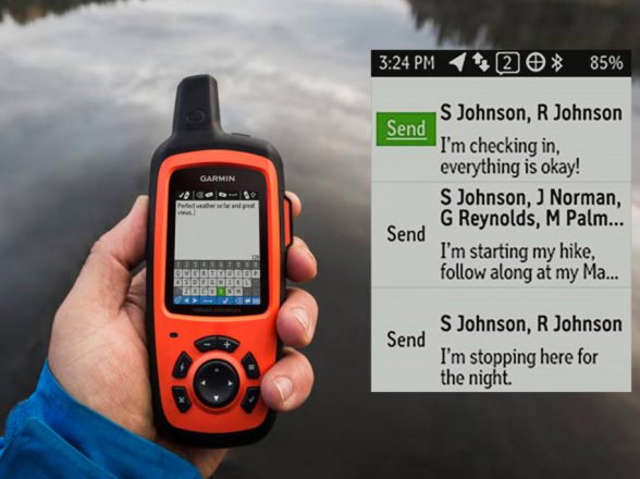 inReach. The ULTIMATE portable satellite tracking device for off grid contact